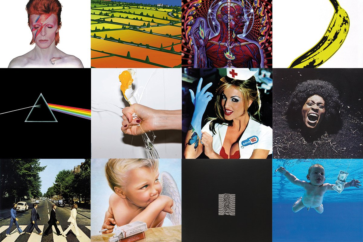The Best Album Covers Art Of All Time
