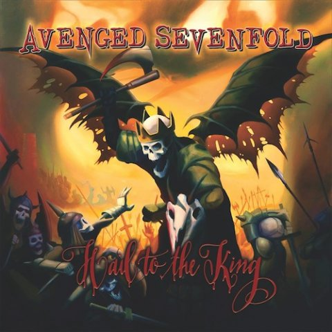 avenged sevenfold artwork hail to the king