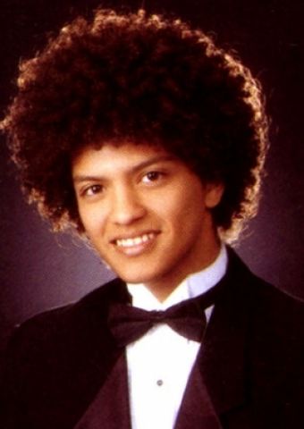 Bruno Mars yearbook