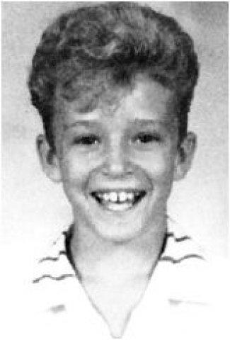 Justin Timberlake young yearbook