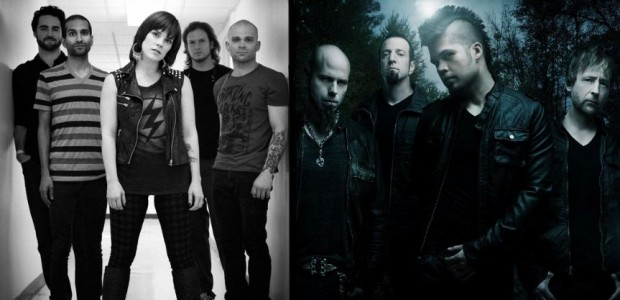 Flyleaf And Drowning Pool Team