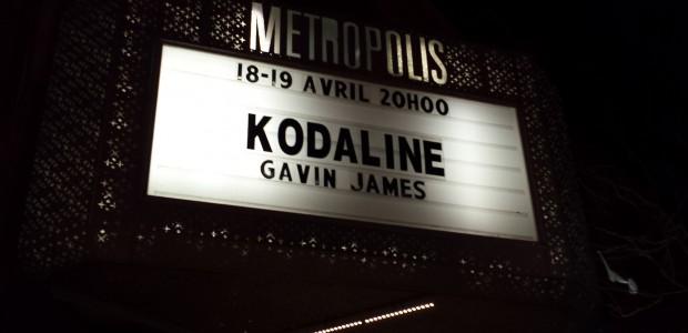 Kodaline Montreal Concert Review 2015
