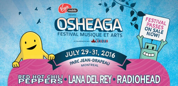 Osheaga's 2016 Full Lineup