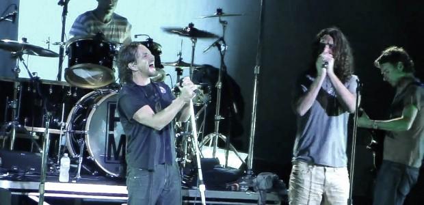 Temple of the Dog Reunion at Pearl Jam Show
