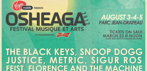 Top 10 Bands On Osheaga 2012's Lineup