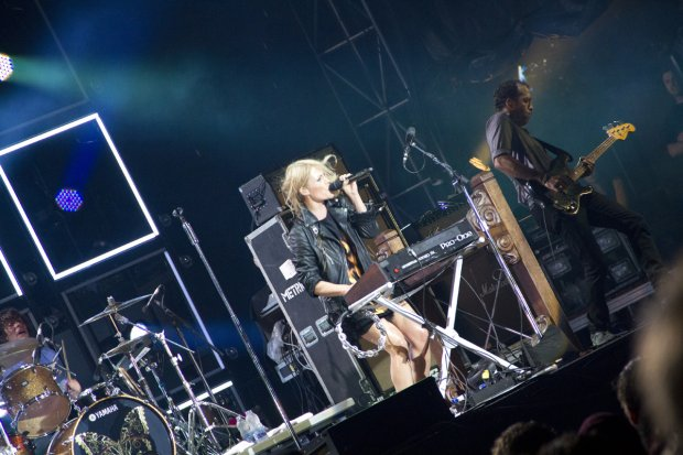 Metric at Osheaga 2012